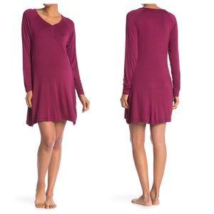 Lamaze Maternity Nursing Night Gown Pajama NWT